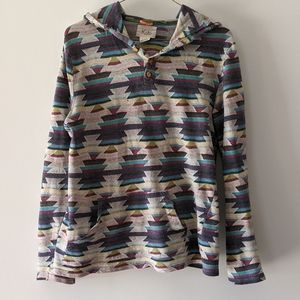 Urban Outfitters Koto Aztec Inspired Hoodie Small